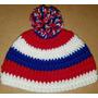 Gorro De Nacional En Crochet Para Bebé De 3-6 Meses. 42 Cm