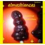 Conejo De Pascua Chupetin Chocolate Papel Metalizado 2017