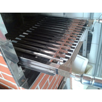 Grelha Argentina Inox 33 X 50 Fabricamos Sob Medida