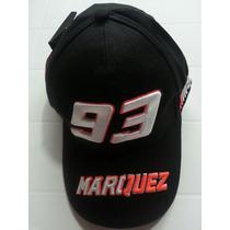 Boné Moto Gp Marc Marquez 93 Preto