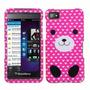 Estuche Rubber Textura Grip Protector Pink Pa Blackberry Z10