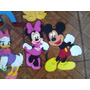 Mickey Minnie Disney Figuras De 35cm En Foami Para Decorar