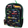 Morral Mattel Hot Wheels 16 Pulgadas Full Size Mochila Para