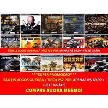 Urban Chaos Para Playstation 2 (kit 15 Jogos Ps2 Guerra