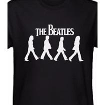 Camiseta Dos Beatles - Bandas De Rock - Frete Grátis