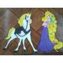 Rapunzel Y Sus Amigos Enredados Figuras De Foami De Foami