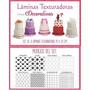 Laminas Texturadoras Para Fondant Decorativas X8