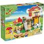 Brinquedo De Montar Banbao Casa Da Fazenda 390 Pecas Ref.: 8