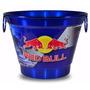 Balde De Gelo Personalizado Cerveja Red Bull.