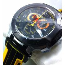 Relógio Masculino Relógio Tissot T Preto Amarelo Garantia
