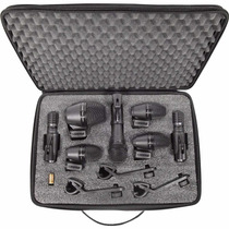 Shure Paquete Pgadrumkit7 Microfonos Para Bateria Winners