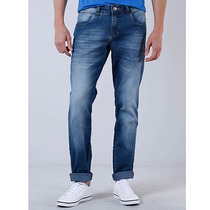 Calça Jeans Skinny Masculina Denuncia