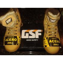 Botas De Seguridad Good Safety Gsf Talla 37