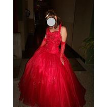 Vestidos De Quinceaños Color Rojo