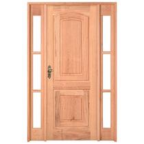 Porta Externa Pe21 Ou Pe14 C/ 2 Vitrôs Angelim 136x213 Esel