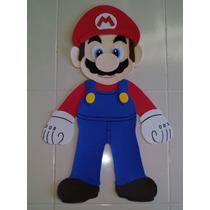 Mario Bros Fomi Figura Decoración Mario Bros Fiesta Disfraz