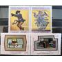 Osl Sello 2458 A 2461 Uruguay Pintores Vernazza - Arden Quin