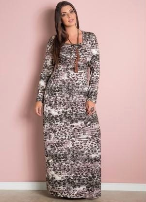 Comprar vestido longo manga comprida