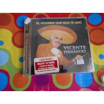 Vicente Fernandez Cd El Hombre Que Mas Te Amo.2010. 2cds