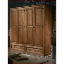 Guarda-roupa;madeira Maciça;rústico,armario;roupeiro