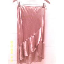 Falda Usada Marca: H&m Talla M 100% Rayon Dim:34cms Cintura