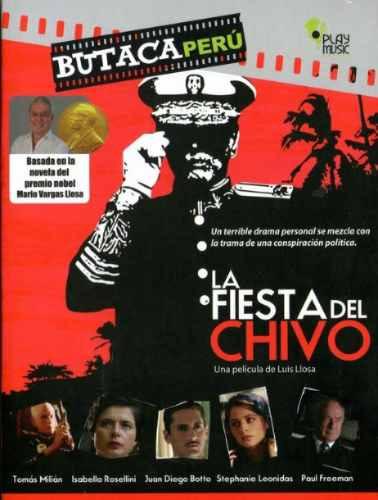 Cdm Butaca Perú La Fiesta Del Chivo (dvd Nuevo Y Sellado) - S/. 35 ...