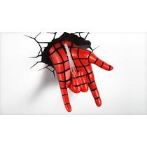 Luminária Mão Do Spider Man - 3d Light Fx