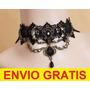 Collar Gargantilla Sexy Estilo Gotico Envio Gratis Dhl