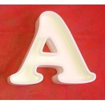 Letras Huecas Corporeas 3d Rellenar Candy Polyfan Belgrano
