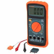 Multimetro Digital Profesional Truper Bateria 9v 10402
