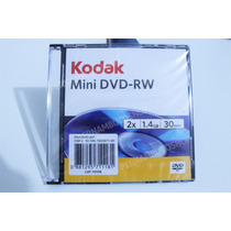 Mini Dvd-rw Kodak 1.4gb - Compativel Com Gravação Game Cube