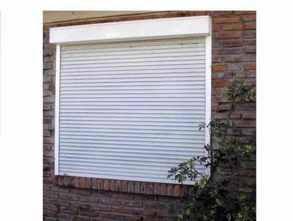 Persiana externa aluminio integrada para janela e porta for Ventana aluminio 120x120