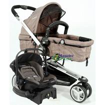 Carrinho Para Bebe Lenox Bebê Conforto C Base Compass Lenox