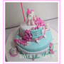 Tortas Artesanales Decoradas Romantica Shabby Chic