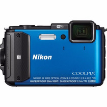 Câmera Nikon Coolpix Aw130 Digital À Prova D
