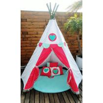 Wappi Teepee Love /tipi/tienda/acampar/campaña
