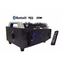 Super Caixa Potente Som Portátil Bluetooth Radio Fm Usb Cont