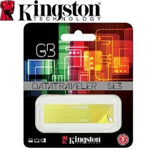 Pen Drive 16gb Kingston 2.0 Amarillo Original Sellado Blistr