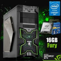 Cpu Gamer I7 6700k Gtx 1070 Mem 16gb Fury Ssd 240, Hd 2 Tb