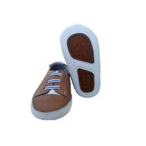Sapatos Para Bebê Em Couro Macio Menino 0 A 15 Meses