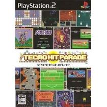 Comprar Jogo Patch Ps 2 Tecmo Hit Parade Arcade Anos 80