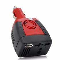 Convertidor Inversor De Voltaje Para Auto De 12v A 110v