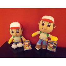 Manny A La Obra- Peluche Disney- Original