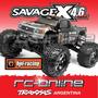 Hpi 109083 Savage X Rtr New Version 2015!! Auto A Radio Cont