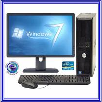 Computadoras Con Monitor Usado Dell, Hp 2 Meses De Garantía
