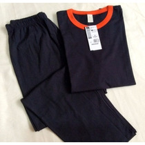 Pijama Hering Masculino - A Cor É Azul Marinho -