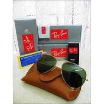 Óculos Aviador Premium Top Rb3025 Rb3026 Lentes Polarizada