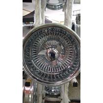 Rodas Lowrider Raiadas 13x7 Reverse 100 Raios Novas Made Usa