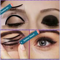 Molde Para Olhos Delineador + Sombra