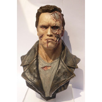 Busto The Terminator Arnold Schwarzenegger 21cm